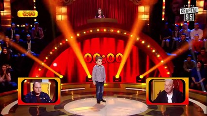 +50 000 - Оскар рвёт комиков и зал актерским мастерством - Рассмеши комика Дети 2019