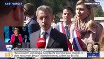 """""""C'était une occasion de rassemblement autour du souvenir."""" : Nicolas Sarkozy s'exprime sur sa présence à la commémoration des combats sur le plateau des Glières"""