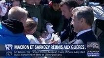 Emmanuel Macron et Nicolas Sarkozy ensemble pour commémorer les 75 ans des combats du plateau des Glières