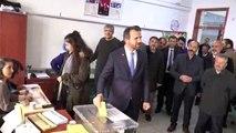 Saadet Partisi Ankara Büyükşehir Belediye Başkan Adayı Mesut Doğan oyunu kullandı - ANKARA