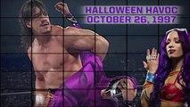 Eddie Guerrero vs Rey Mysterio - WCW Halloween Havoc 1997 (Sasha Banks superstar pics) full match HD