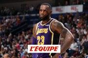 La saison de LeBron James, un échec ? - Basket - NBA - Lakers