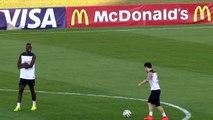 Quand Valbuena fait une démonstration de skills à Pogba