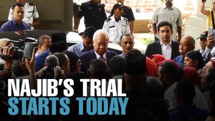 NEWS: Najib's SRC trial starts today