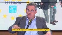 """""""Nous voulons expliquer ce qu'est l'Europe des citoyens"""" pas """"des bureaux et des costumes gris"""" (Marc Saikali, directeur de France 24)"""