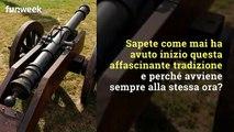Lo Sparo Del Cannone Del Gianicolo A Roma Video Dailymotion