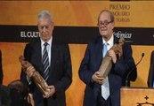 Vargas Llosa y Pere Gimferrer reciben el Premio Paquiro de Toros