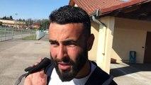 Coupe du Rhône (8ème de finale) – Nassime CHENNIFA réagit après l'élimination de l'O. BELLERCOCHE à l'ES GENAS