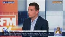 """""""Nous voulons arriver en tête pour lui mettre un carton rouge."""" : pour Jordan Bardella (RN), les élections européennes sont un référendum contre la politique de Macron"""