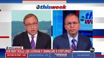Mulvaney Guarantees Americans Covered Under Obamacare Wont Lose Coverage Under Potential Trump Plan