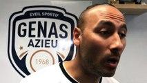 Coupe du Rhône (8ème de finale) – Hani EL GASMI réagit après la qualification de l'ES GENAS contre l'O. BELLEROCHE