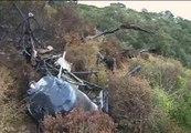 Al menos un fallecido al estrellarse una avioneta en una zona boscosa en Medina Sidonia (Cádiz)