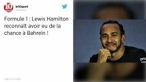 Formule 1. Hamilton remporte le Grand Prix de Bahreïn, premier podium pour Leclerc