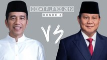 Highlight Debat Pilpres 2019 Ronde 4