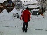 Una copiosa nevada sorprende a los esquiadores de Sierra Nevada