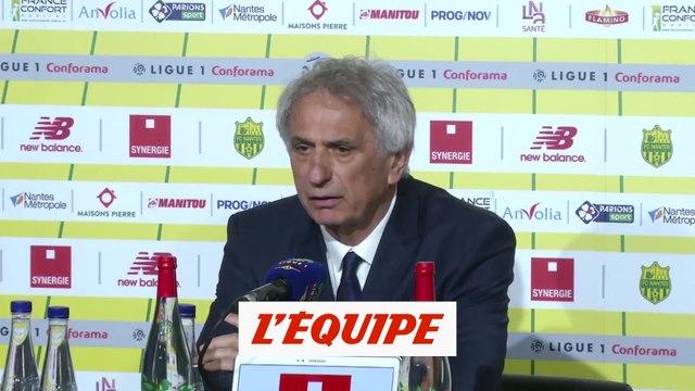 Halilhodzic «Un cauchemar total» - Foot - L1 - Nantes