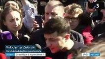 Ukraine : le comédien Volodymyr Zelensky en tête du premier tour de la présidentielle