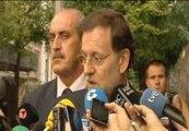 Rajoy advierte a Mas que no es el momento de hablar de soberanía