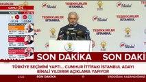#SONDAKİKA Binali Yıldırım: İstanbul'da seçimi kazandık