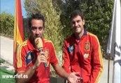 """Xavi e Iker """"muy contentos"""" con el Premio Príncipe de Asturias de los Deportes"""