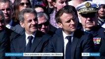 Haute-Savoie : Emmanuel Macron et Nicolas Sarkozy affichent leur entente pour commémorer les résistants