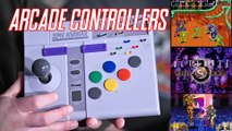 ARCADE Controllers for the SNES!