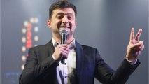 Comedian Volodymir Zelenskiy Leads Ukrainian Presidential Race