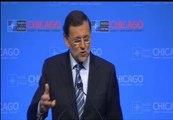 """Rajoy, """"encantado"""" de oír hablar de los eurobonos"""