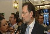 Rajoy apuesta por reforzar el euro, que los paises cumplan sus compromisos y hacer sostenible la deuda