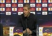 """Simeone: """"Los atléticos están orgullosos de su equipo"""""""