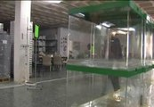 Urnas y papeletas preparadas en Andalucía