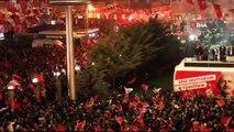 CHP'nin Ankara Büyükşehir Belediye Başkan adayı Mansur Yavaş balkon konuşması yaptı