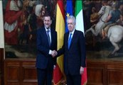 Monti recibe a Rajoy en Roma