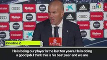 (Subtitled) Zidane suggests Benzema will stay at Real Madrid