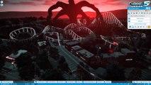 Planet Coaster: Stranger Things - The Upside Down! Coaster Spotlight 621 #PlanetCoaster
