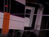 Tres heridos leves al descarrilar un tren en Barcelona