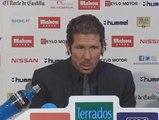 """Simeone: """"Esperamos nuestro momento y aprovechamos nuestras virtudes"""""""