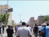 Imágenes de manifestantes siendo tiroteados por el Ejército egipcio en Ismailía