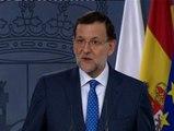 """Rajoy: """"Entenderán que un presidente del Gobierno no puede salir cada día al paso de cada rumor que se publique"""""""