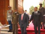 Primer viaje oficial del Rey Juan Carlos tras su operación