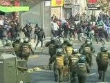 Estudiantes chilenos en lucha