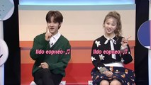 [Pops in Seoul] Samuel & Gaga(from NATURE)'s Reading the K-pop Lyrics! Apink(에이핑크)'s I'm So Sick(1도 없어)