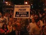 Multitudinaria manifestación contra la reforma judicial en Argentina