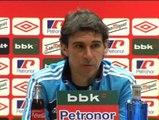 """Karanka: """"El fútbol es para hombres, y más en San Mamés"""""""