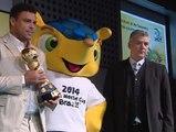"""Ronaldo: """"España está mucho mejor que Brasil""""."""