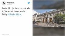 Paris. Un lycéen se suicide à l'internat Janson de Sailly