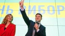 """Après le premier tour de la présidentielle en Ukraine : """"on va s'amuser"""""""