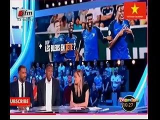 """Issa Diop : « L'Équipe de France ou rien… » PAS LE SÉNÉGAL , Découvrez la réaction de Pape Cheikh Diallo """" Souma Télé Français Wower"""""""