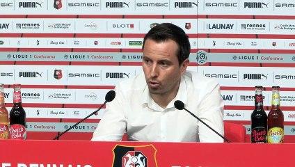 1/2 CDF. Lyon / Stade rennais F.C. : Conférence de presse