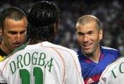 Revivez la prestation de Didier Drogba  lors du match amical entre la France et la Côte d'Ivoire (2005)